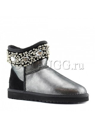 Jimmy Choo Crystals Glitter Black