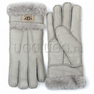 Перчатки UGG Gloves Tenney Light Grey светло-серые