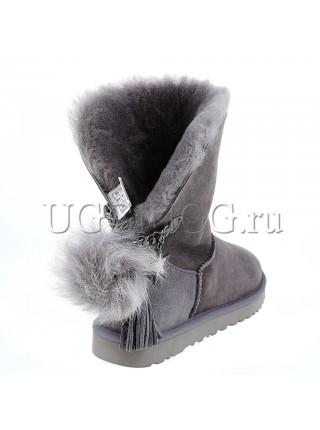UGG Classic Short Charm Grey