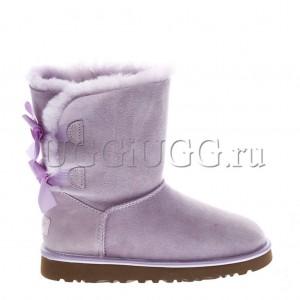 UGG Bailey Bow II Metallic Lavender Fog