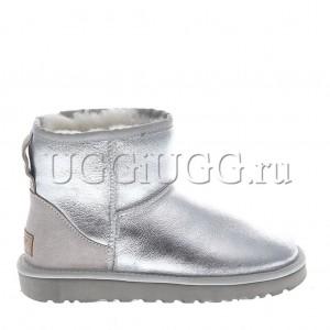 UGG Classic II Mini Metallic Silver