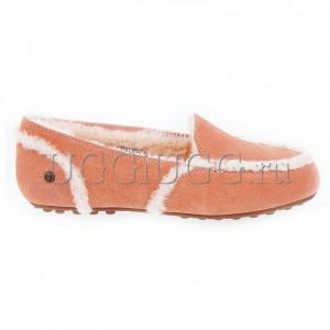 Лоферы угги персиковые UGG Hailey Loafer Apricot