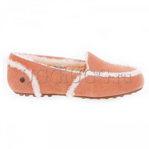Лоферы угги персикового цвета UGG Hailey Loafer Apricot