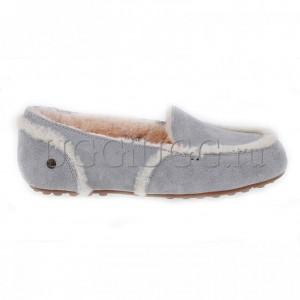 Лоферы угги серые UGG Hailey Loafer Grey