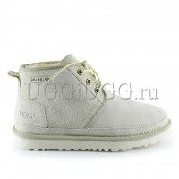 Женские ботинки угги светло-серые UGG Neumel 40:40:40 Boot