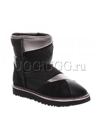 UGG Classic II Patchwork Black
