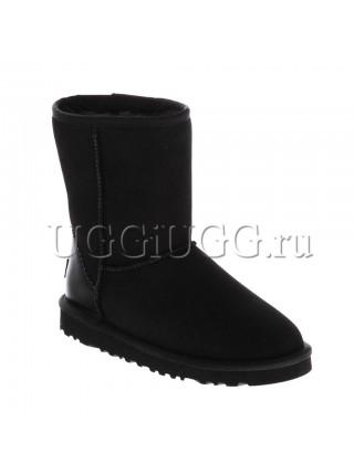 UGG Classic II Short Metallic Black