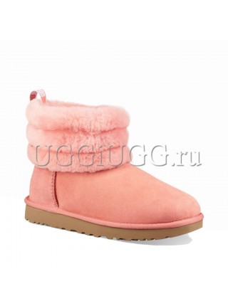 UGG Fluff Mini Quilted Logo Lantana