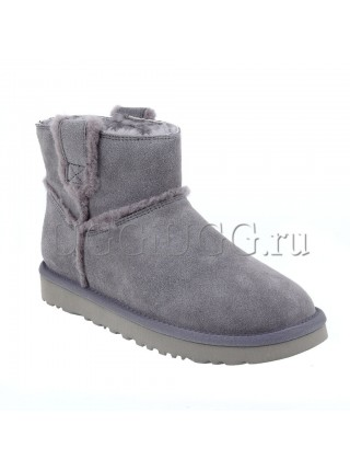 UGG Classic Mini Speel Seam Grey