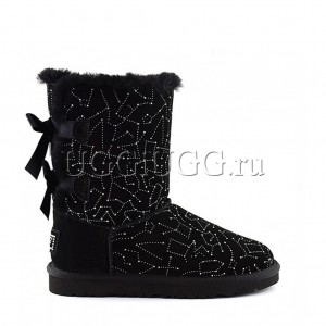 UGG Bailey Bow Constellation Black
