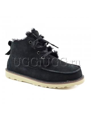 Мужские угги ботинки черные UGG Mens Beckham Black