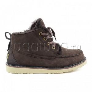 Мужские угги ботинки коричневые UGG Mens Beckham Chocolate