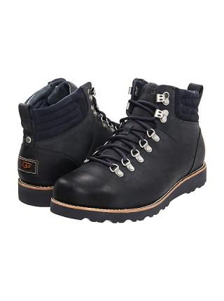 Мужские ботинки угги черные UGG Mens Capulin Black