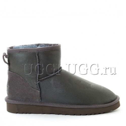 UGG Men Mini Metallic Grey