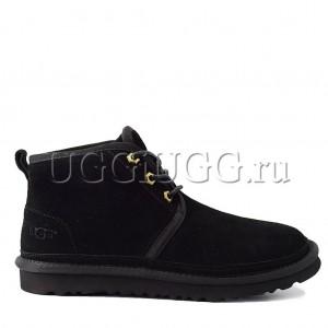 Угги ботинки мужские черные UGG Men Mini Neumel Black