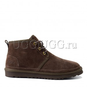 Мужские угги ботинки коричневые UGG Men Mini Neumel New Chocolate