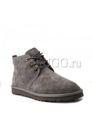 Угги ботинки серые мужские UGG Men Mini Neumel New Grey