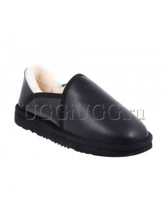 UGG Slippers Kenton Metallic Black
