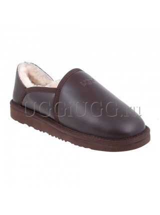 UGG Slippers Kenton Metallic Chocolate