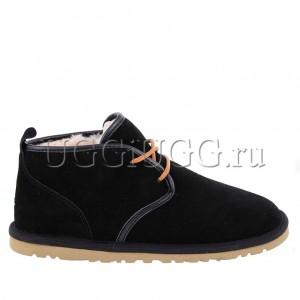 Черные мужские угги ботинки UGG Mens Maksim Black