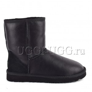 UGG Men Short Metallic Black