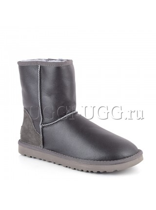 UGG Men Short Metallic Grey