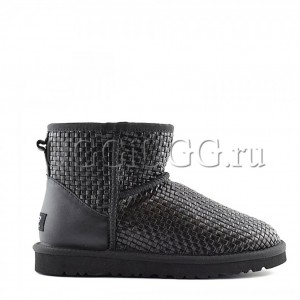 UGG Mini Bottega Veneta Black