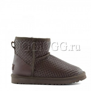 UGG Mini Bottega Veneta Chocolate