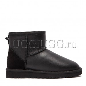 UGG Men Mini Metallic Black