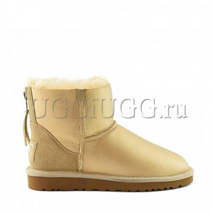 UGG Mini Zip Soft Gold