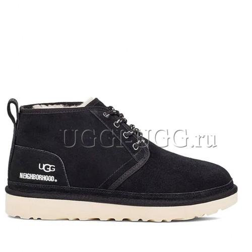 Мужские черные ботинки UGG x Neighborhood Neumel Black