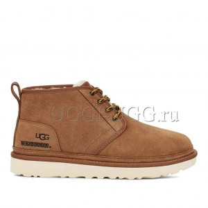 Женские ботинки UGG x Neighborhood Neumel Chestnut