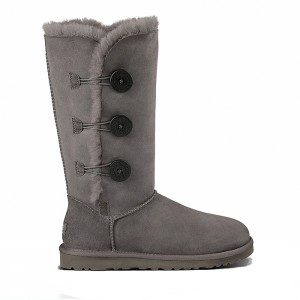 UGG Australia Bailey Button II Triplet Grey
