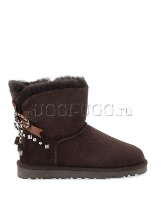 UGG Mini Bailey BRAID Chocolate