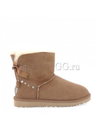UGG Mini Bailey BRAID Chestnut