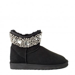 UGG Jimmy Choo Crystals Black