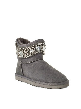 UGG Jimmy Choo Crystals Grey