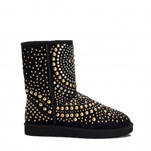UGG Jimmy Choo Snow Boots Mandah Black