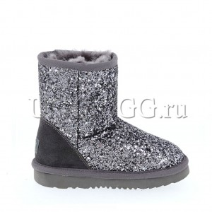 UGG Kids Classic Stardust Grey