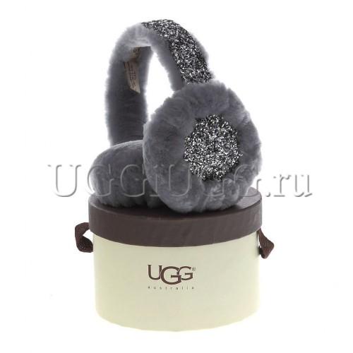 Меховые наушники UGG Earmuff Stardust Grey