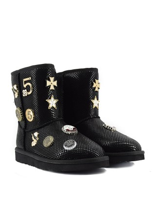 UGG Jimmy Choo 5 th Avenue Black
