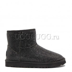 UGG JIMMY CHOO MINI SEREIN II BLACK