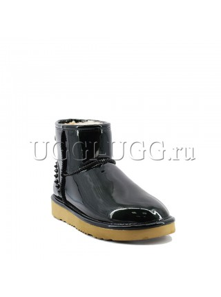 UGG Jimmy Choo Mini Spikes Black