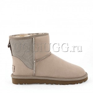 UGG Classic Mini Leather Snake II Diary