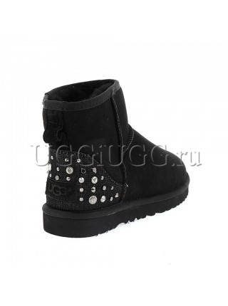 UGG Studded Bling Black