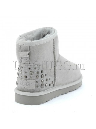 UGG Studded Bling Grey Violet