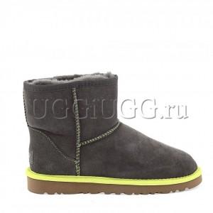 UGG Classic Mini Neon Grey