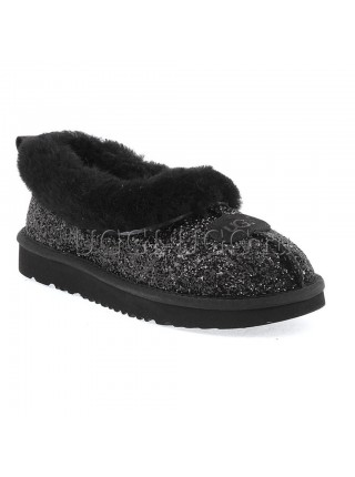 UGG Slipper Rulan Stardust Black