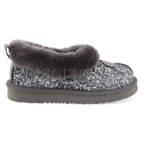 UGG Slipper Rulan Stardust Grey