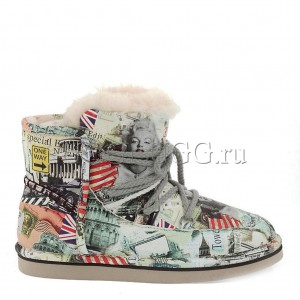 UGG Jimmy Choo Travel Fur Green